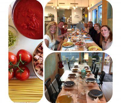 Cena con noi - Abendessen bei uns - Dinner with us